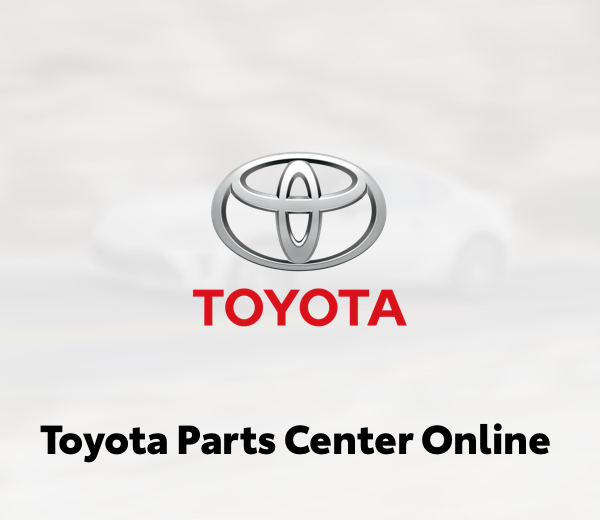 Toyota Parts Center Online